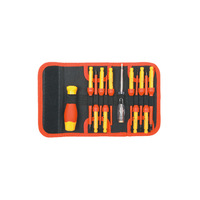 Persian Tool 12 Piece VDE Changeable Insulation Screw Driver Batch Rod Set BS600240