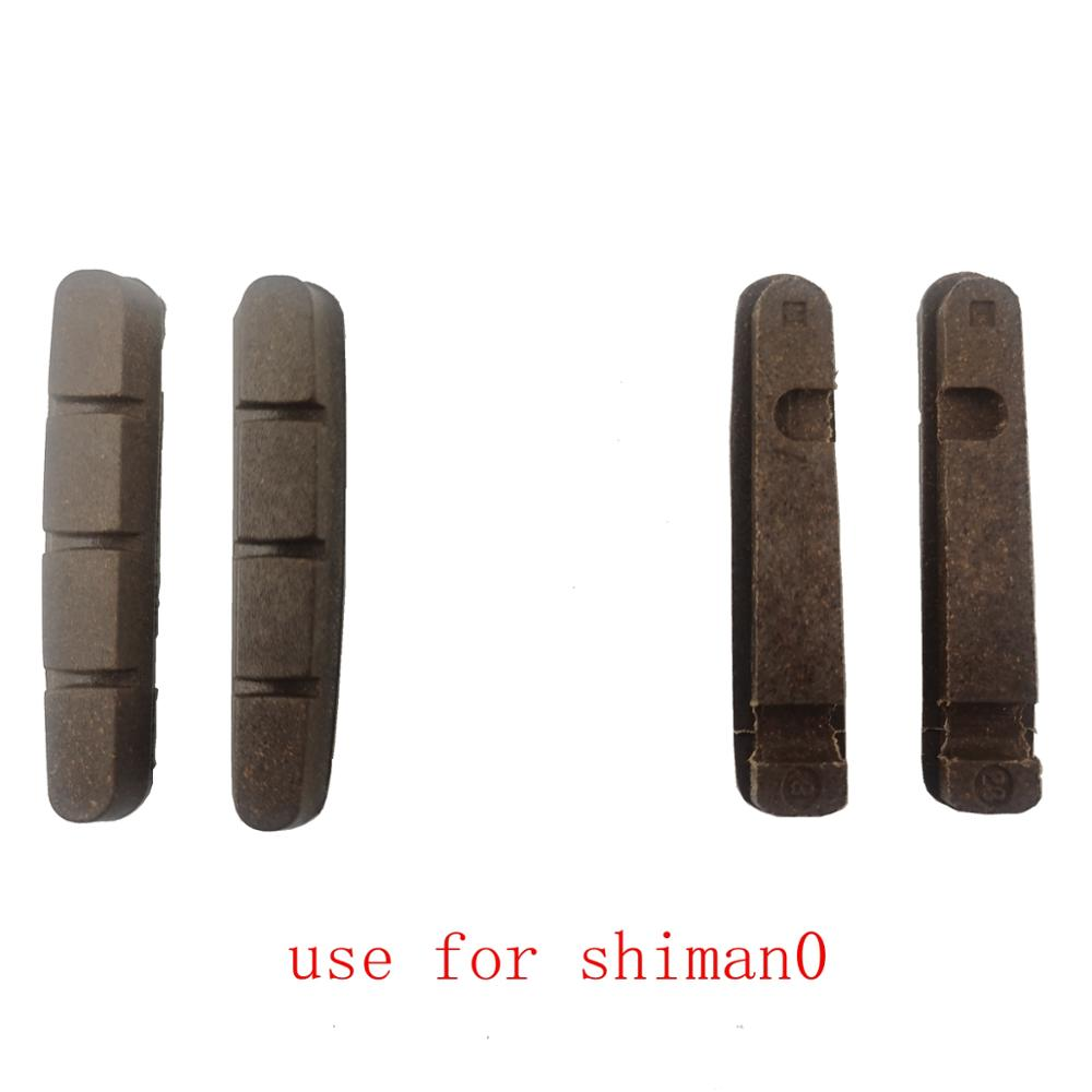 4Pcs Right Left Road Bike Bicycle Pads for Shimano Carbon Fiber Wheel Rim US
