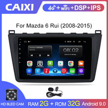 Multimedia-Player 2din Mazda 6 Autoradio Stereo Android9.0 2007 CAIXI 2008 2009 for Rui