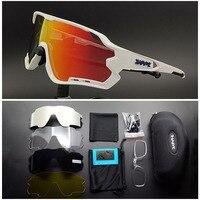 Kapvoe 5 렌즈 스포츠 자전거 안경 남성 여성 달리기 선글라스 Mtb 사이클링 안경 프로 도로 자전거 고글