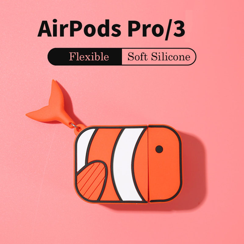 LoveRony 3D Silicone Case for AirPods Pro 16