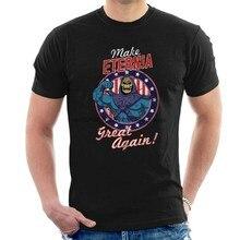 Camiseta mestre do universo skeletor tutte le taglie rendere di nuovo eternia grande