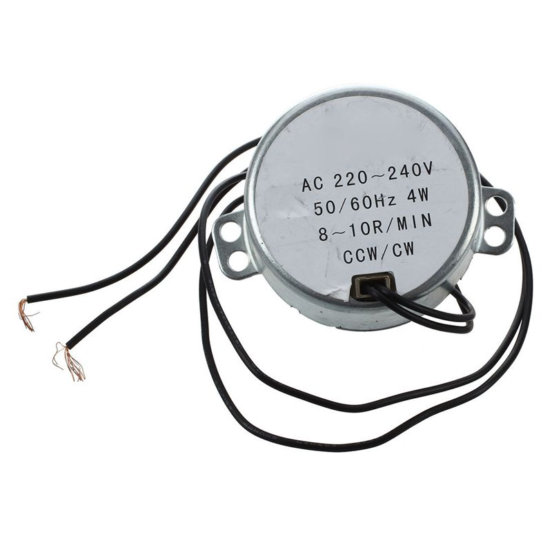 CCW/CW Direction 50/60Hz Frequency 8-10RPM Synchronous <font><b>Motor</b></font> <font><b>AC</b></font> 220-240V 4W image