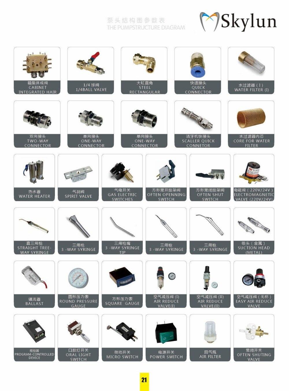 Conector handpiece dental equipamentos SL1129
