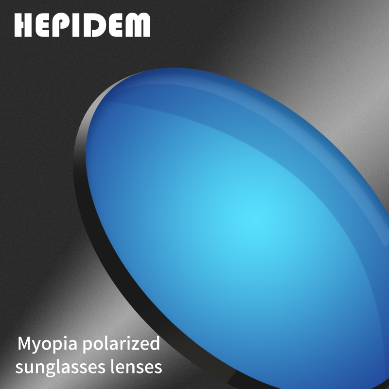 1.50 1.61 1.67(-8.00~+8.00) Polarized Prescription CR-39 Resin Aspheric Glasses Lenses Myopia Sunglasses Lens Coating Lentes