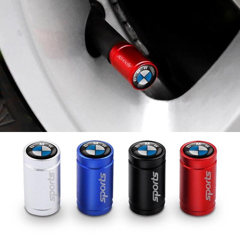 Car Styling sport Emblema Autoadesivi Della Decalcomania Ruota Pneumatico Della Protezione di Valvola per E46 E39 E90 E60 E36 X1 X3 X4 X5 x6 1 3 5 Accessori di serie