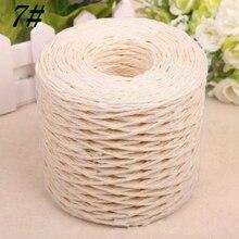 Hat Straw-Rope Raffia TJM9110 200-Yards 2mm Yarn-Paper Crochet Organic