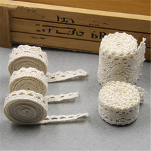1Meter White Cotton Crochet Lace Trims Edge Colthing DIY Charms Sewing Crafts