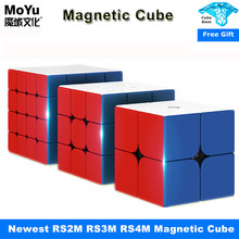 Puzzle Toys Speed-Cube Cubo Magico 3x3x3 RS3M 4x4 RS4M 2x2 RS2M for Children Gift Moyu