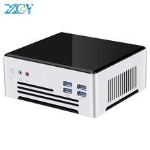 Mini PC Intel i7 7820HQ Quad Cores DDR4 RAM M.2 SSD 2.4/5.0G WiFi HDMI DP 4K 60Hz Dual Ethernet 6xUSB3.0 Windows 10