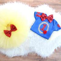 Vestido de Cosplay de nieve para niñas pequeñas, Ropa de fiesta de cumpleaños de 1 año de bautismo, tutú de Pastel dulce, regalo para niños pequeños