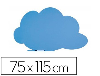 SLATE ROCADA CLOUD LACQUER MAGNETICA THERAPY WITHOUT MARCO BLUE 75X115 CM
