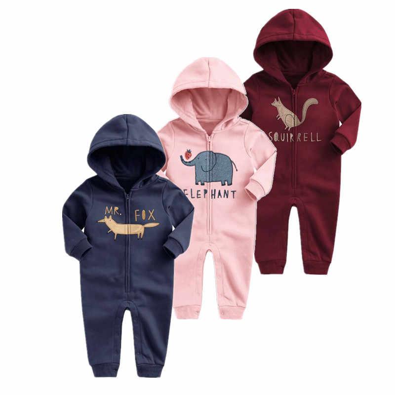 Nieuwe Lente 2019 baby Kleding Lange Mouw truien Baby Jongens Meisjes jumpsuit Jas unisex baby kleding super kwaliteit kleding