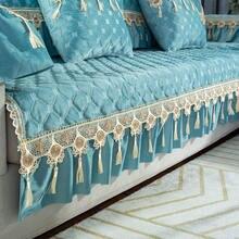 Секционный Бархатный Чехол для дивана в европейском стиле l