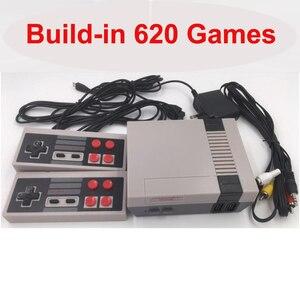Built-In 620 Games Mini TV Gam