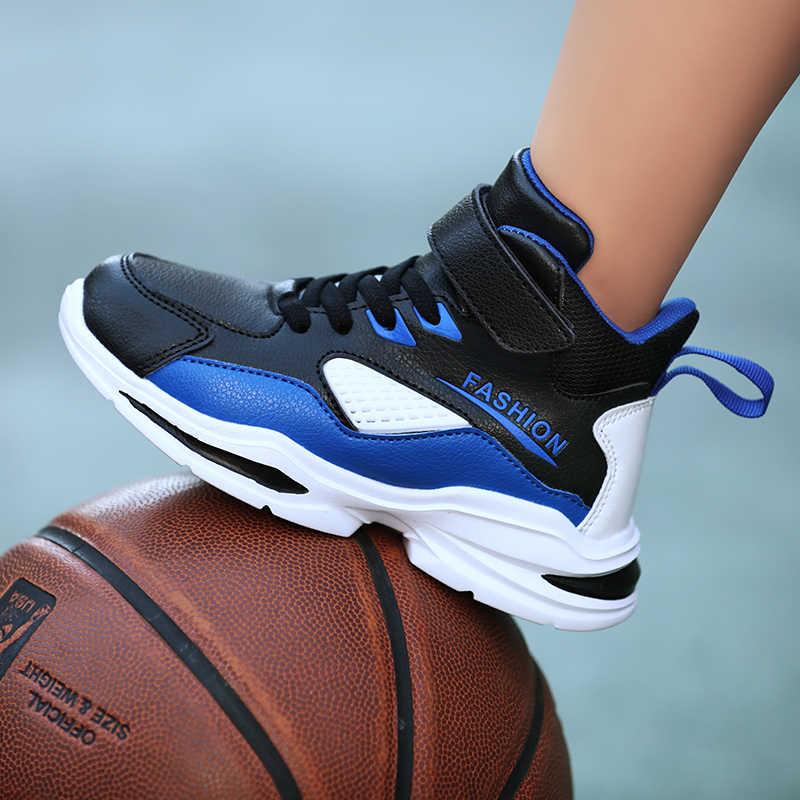 2019 autunno Ragazzi di Nuovo Stile Scarpe Da Basket Mesh Traspirante Per Bambini All'aperto Scarpe Da Ginnastica di Sport Per Bambini Scarpe Bambino scarpe Da Ginnastica