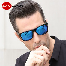 UVLAIK Rectangle Polarized Sunglasses Men Women 2020 Brand D