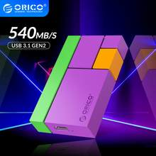 ORICO Chroma Externe SSD Festplatte 1TB 500GB 250GB Mini Tragbare SSD Typ C 540 MT/S Bunte solid State Drive für Junge Dame