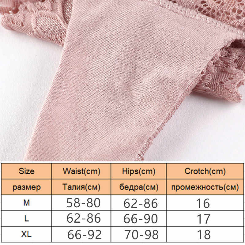 3 قطعة/الوحدة مثير الدانتيل ثونغ منخفضة الخصر الدانتيل سراويل شفافة النساء الجوف خارج تنفس G سلسلة ملخصات القوس الملابس الداخلية الملابس الداخلية