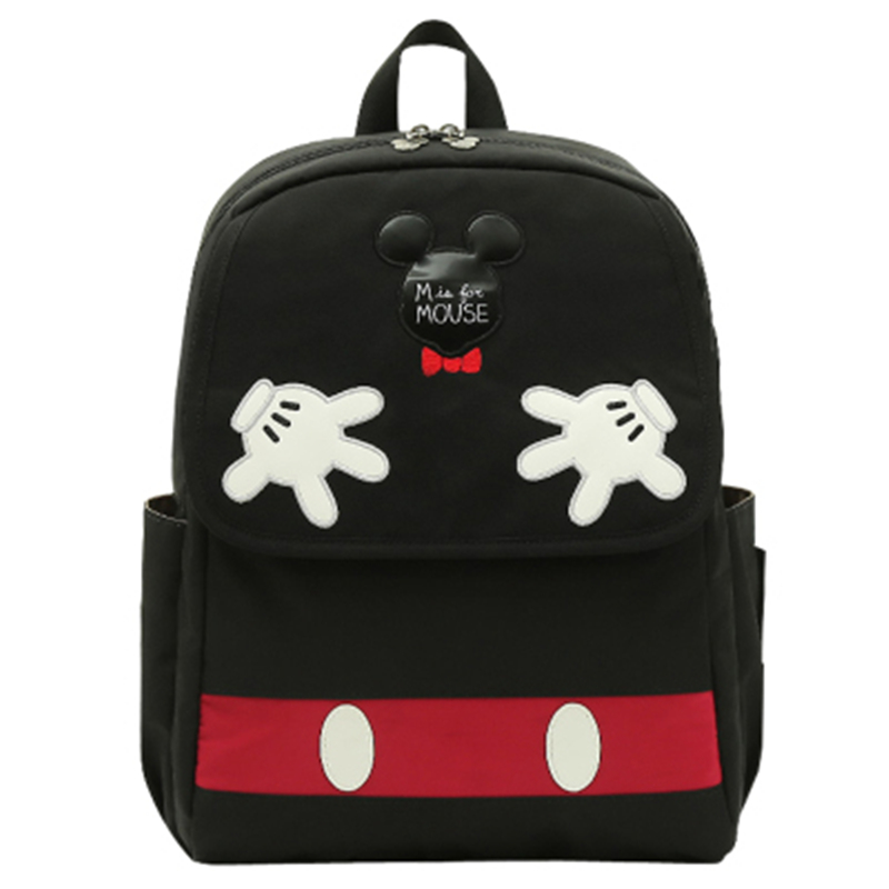 Disney Mickey Minnie Multi-function Mummy Bag Large Capacity  Bottle Insulation Pregnant Women Package  Waterproof Backpack