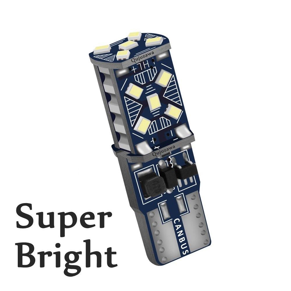 1 pçs novo t10 w5w wy5w 912 921 super brilhante led luz de afastamento do carro marcador lâmpada canbus erro livre auto cunha cúpula lâmpada leitura