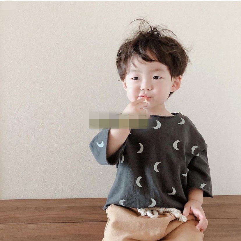 Kids T-shirts OZ Brand 2021 Spring Summer New Design Boys Girls Fashion Dot Print Pants Baby Child Cotton Cute Outfits Clothes 5
