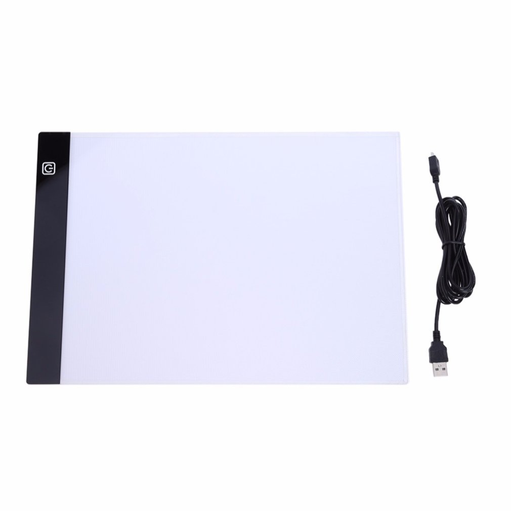 Ultrathin LED Drawing Pad Tablet Drawing Pad Box Board LED Drawing Board USB Powered A4 Copy Station
