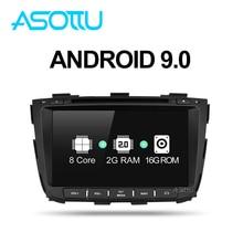 Asottu Z13SLT8060 Android 9,0 gps para coche para kia Sorento 2013 2014 dvd reproductor de dvd para coche 2 din reproductor estéreo para coche gps naviigation