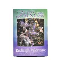 Fairy Tarot Cards 78 Cards Deck Radleigh Valentine illustrations High Quality Board Oracle Party Game Divination Toy(China)