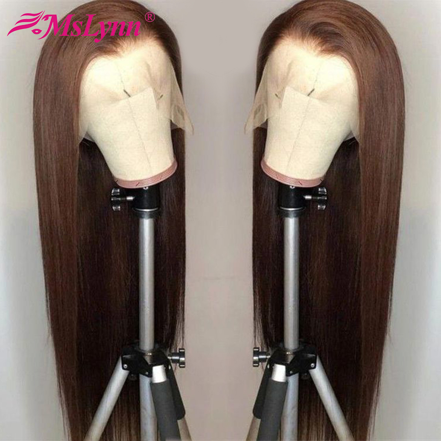 Straight Lace Front Wig Lace Front Human Hair Wigs For Women 360 Lace Frontal Wig Pre Plucked With Baby Hair Mslynn Remy Hair