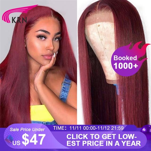 Perruque Lace Frontal wig brésilienne remy naturelle KRN