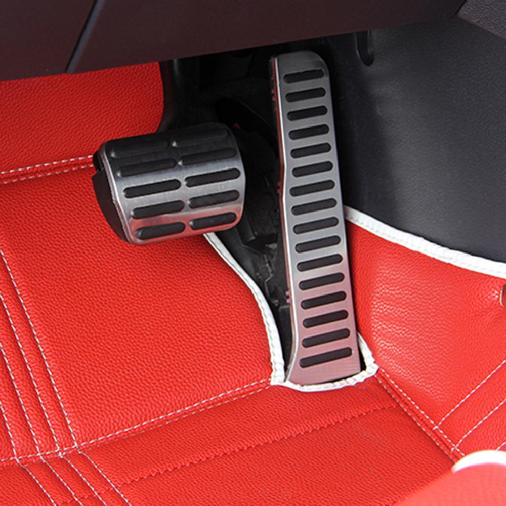 Automatyczny zestaw pedał gazu samochodu pedał gazu i hamulca pedał sprzęgła dla volkswagena dla Jetta MK5 dla golfa ze stali nierdzewnej wysokiej jakości