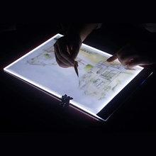 Планшет для рисования со светодиодсветодиодный подсветильник