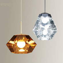 Lampes suspendues nordiques lampara De Techo Colgante moderne Lustre lampe design Luminaires Suspendus Colgantes en verre