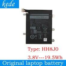 Kede 3.8 v 19.5wh hh8j0 bateria para a série do portátil da tabela de dell hh8j0
