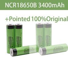 2021 Original Panasonic NCR18650B 3.7v 3400mAh 18650 rechargeable lithium battery for Panasonic flashlight batteries+Pointed