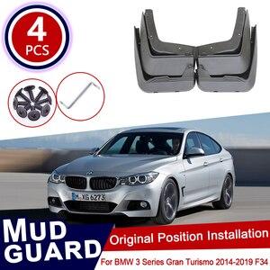 Для BMW 3 серии Gran Turismo GT 2014 ~ 2019 F34 Автомобильные Брызговики передние задние брызговики Брызговики щитки 320i 330i