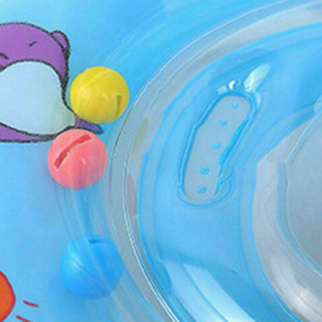 Baby Inflatable Donut Swim Ring Tube Pool Fun Raft Float Beach Swimming Toys Bathing Inflatable Flamingo Inflatable Water 3
