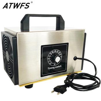 ATWFS oczyszczacz powietrza Generator ozonu 220v 60g 48g 36g filtr powietrza Ozonator domu przenośny Ozonator ozonizator O3 Generator z rozrządu tanie i dobre opinie 50m³ h CN (pochodzenie) 110 w 220 v 61㎡ Przenośne 99 99 Źródło A C 99 97 ≤30dB Bez jonizatora 10-20m ³ Usuwania formaldehydu