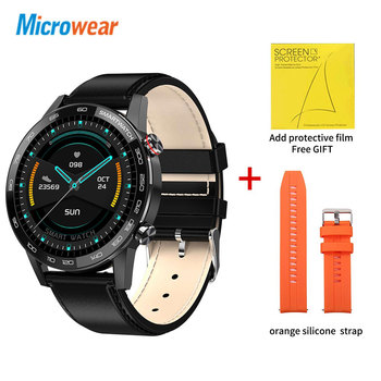 Microwear L16 Smart Watch Men Sports Fitness Tracker IP68 Waterproof Heart Rate Monitor Android IOS Full Touch Screen Smartwatch 13