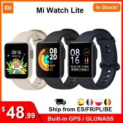 Xiaomi Mi часы Lite GPS Mi Смарт-часы глобальная версия Смарт-часы 2020 1,4