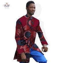 Модные африканские платья для мужчин рубашка с длинным рукавом
