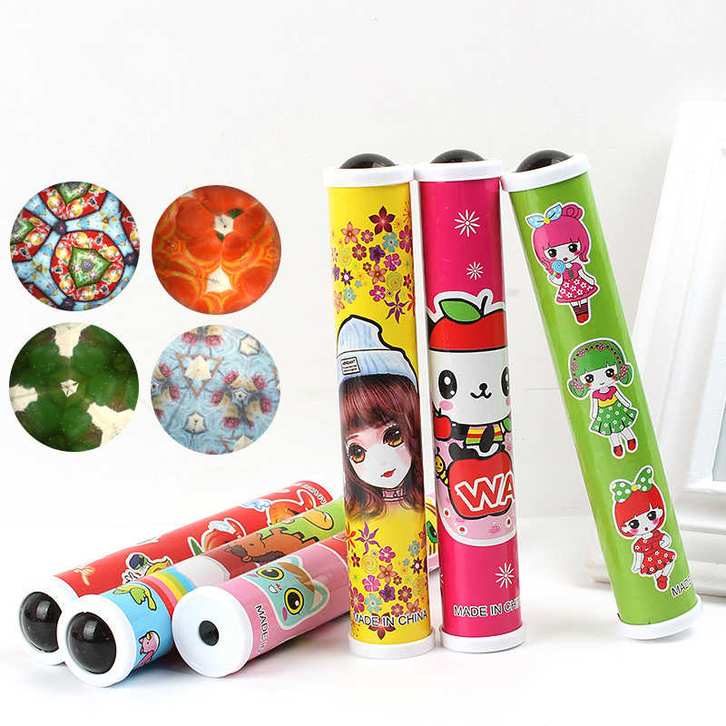 Girls Series Kaleidoscope Toy Children Nostalgic Magic Variety Fun Creative Toys For Children Gifts