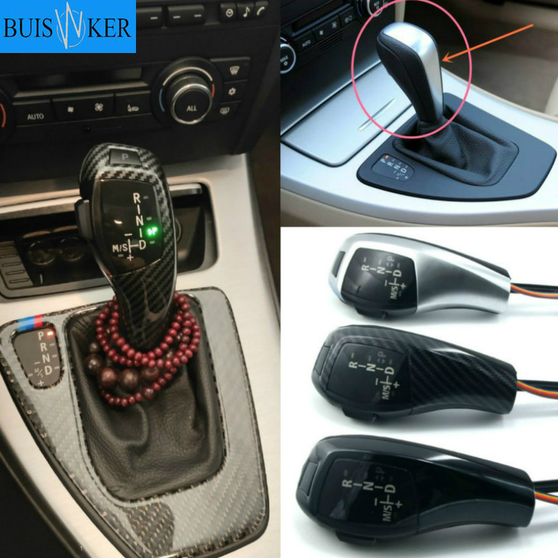 LED Gear Shift Knob for BMW 1 3 5 6 7 x1 x3 x5 z4 E81 E82 E87 E88 89 E46 E90 91 E92 E93 E39 E60 E61 E63 E64 E38 E84 E53 E85 E89 image