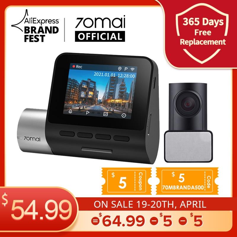 $5 70MBRANDA500 70mai A500 Dash Cam Pro Plus 1944P GPS ADAS