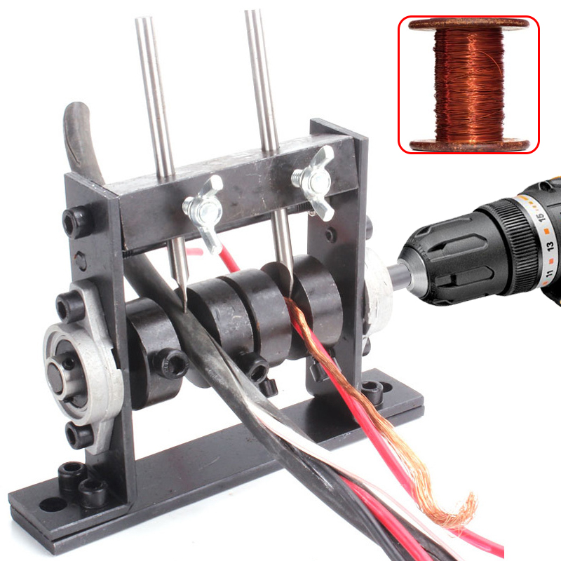 Portable Automatic Wire Stripping Machine  amp  Manual  Peeling Machines Stripper Stripper for 1-30mm Hand Tool  Connect Hand Drill