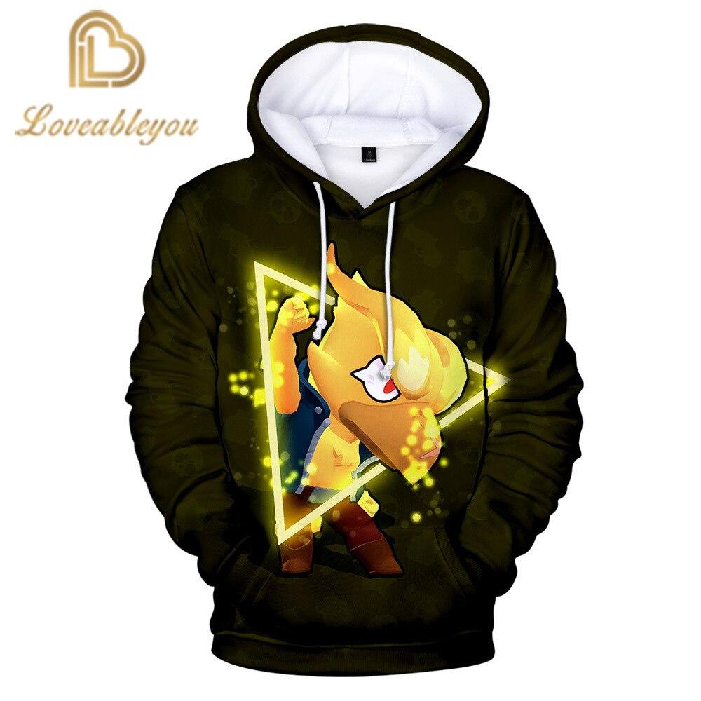 Newest Shooting Game 3D Hoodies Sweatshirts Boys Girls Streetwear Games Hooded Sweatshirts Casual Hoodies Children's Clothe