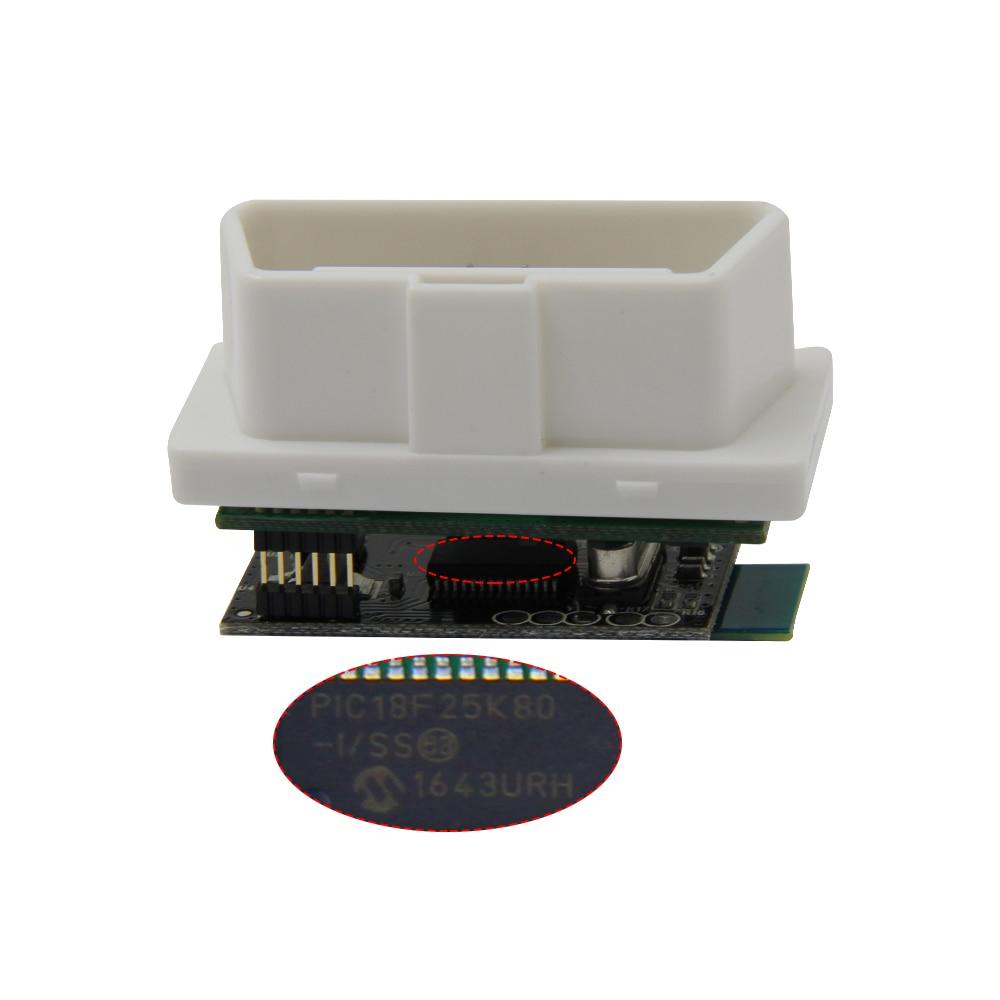 Hb091ce723e3645f2b379a0d3f3e3f289y MINI ELM327 V1.5 PIC18F25K80 Bluetooth OBD2 Scanner Diagnostic adapter ELM 327 v1.5 OBD OBDII Code reader scan-tool For ATAL
