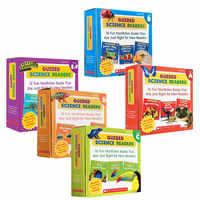 5 Box/set Inglês Leitores Ciência Escolar Guiada ACDEF Deixar Os Alunos Crianças Livro Do Bebê Aprender Livros em Língua Inglês para Crianças