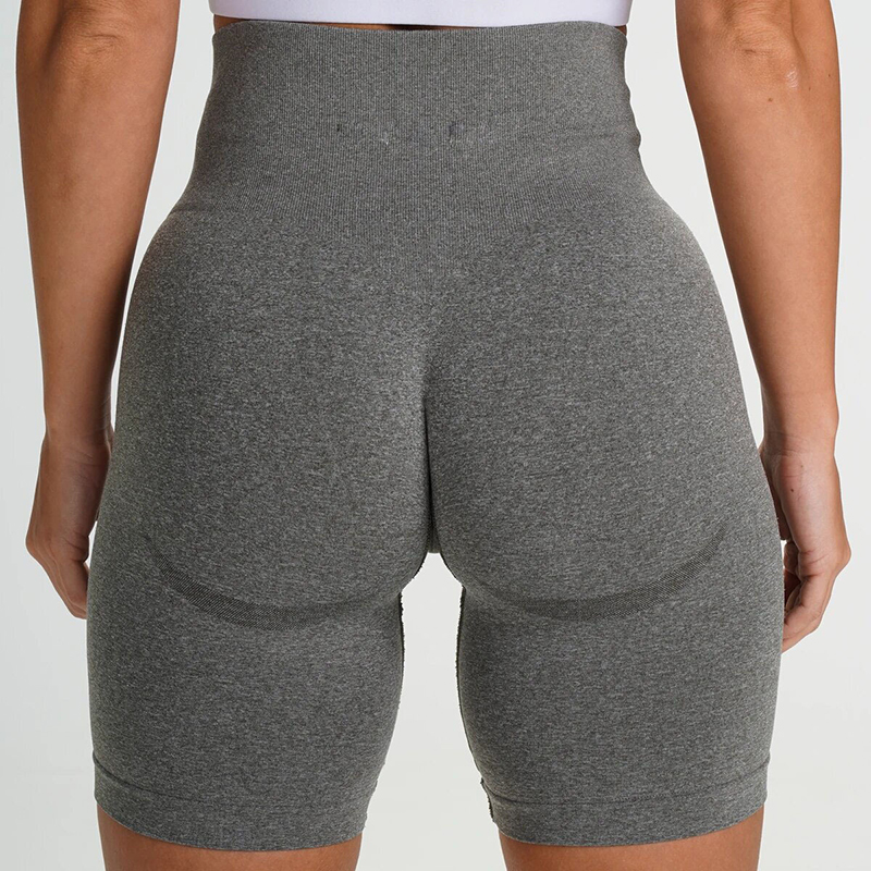 Women Sexy Shorts Sports Running Fitness Seamless Joggers Athletic Exercise Gym Compression High Waist Shorts 2020 New